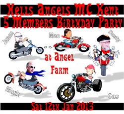 1 ha 5 members party 12.01.13