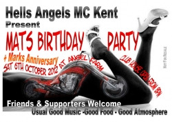 10 HA mat and marks party 06.10.12