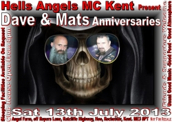 6 mat and daves anniversary party 13.07.13
