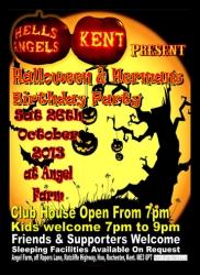 9 ha halloween and hermans bday 26.10.13