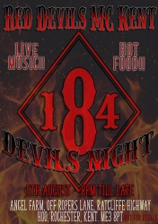 9  RED DEVILS Devils Night 5.08.17