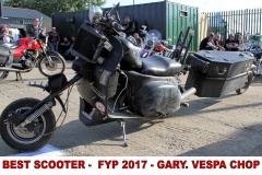 12 BEST SCOOTER - FYP 2017 - GARY. VESPA CHOP