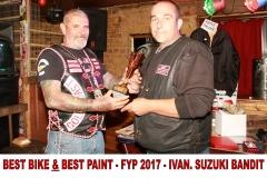 2 BEST BIKE & BEST PAINT FYP 2017 IVAN SUZUKI BANDIT