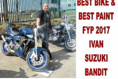 3 BEST BIKE & BEST PAINT FYP 2017 IVAN SUZUKI BANDIT