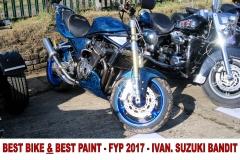 4 BEST BIKE & BEST PAINT FYP 2017 IVAN SUZUKI BANDIT