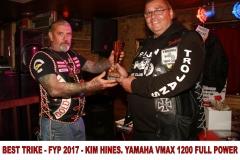 6 BEST TRIKE - FYP 2017 - KIM HINES. YAMAHA VMAX 1200 FULL POWER
