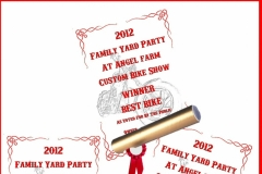 9 2012 FAMILY YARD PARTY WINNER