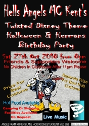 Halloween and Hermans birthday 27th oct 2018