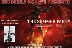 Red Devils MC Kent party Aug 2019