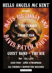 10 HAMCK daves patch and mats bday 24.09.11