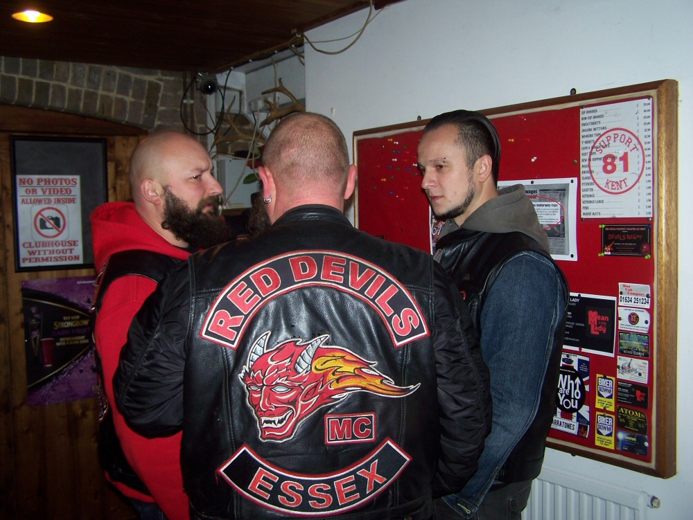 Red devils mc patch over