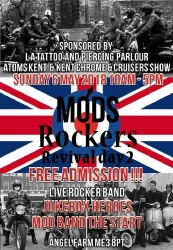 2nd Mods and Rockers revival day 2018