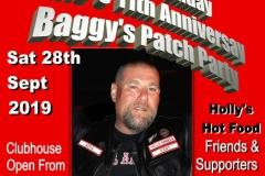 Baggys Patch. Mats birthday. Eddies anniversary Party 28.09.19