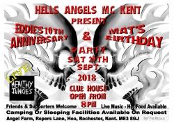 Eddies 10th Anniversary and Mats Birthday 29.10.2018