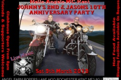 HAMCK Johnnys 2nd And Jasons 10th Anniversary Party March 2019
