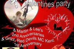 HAMCK valentines party 9th feb 2019