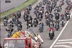 Dr Maz Harris Funeral Hells Angels MC Kent (5)