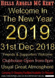 New Years Eve HAMC Kent 2018