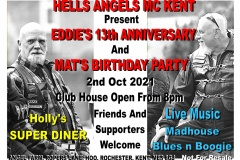 Oct 2nd 2021 Eddies 13th Ann and Mats bday